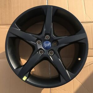 18 Inch Wheel Ford Focus St 2013 2018 Oem Genuine Matte Black 3877