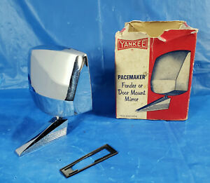 Nos 50s 60s Vintage Yankee Pacemaker Sideview Mirror Custom Hot Rod Rat Truck