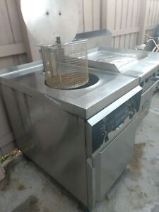 Giles Deep Fryer 720 And Garland Electric Oven