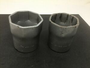2pc Otc Wheel Bearing Locknut Socket Set 1928 2 9 16 1937 2 3 4 3 4 Drive