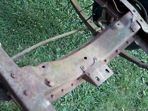 48 49 50 51 52 53 Dodge Pu Truck Chassis Parts Front Crossmember Hot Rat Rod