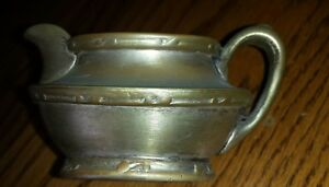 Reed Barton Silver Soldered Creamer 402 1 2 Antique Very Nice