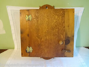 Antique Cabinet Americana Wooden Home Kitchen Woodenware