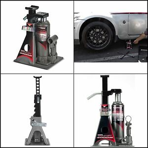 Powerbuilt 2 Ton Unijack Bottle Jack And Jack Stand All In One 620470