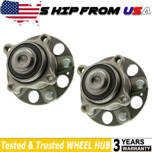 Rear Wheel Hub Bearing For 2008 12 Honda Accord Fwd W Abs Encoder 2pc