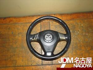 Jdm 07 09 Mazdaspeed Ms3 Mazda 3 Axela Bk3p Oem Steering Wheel 2007 2009