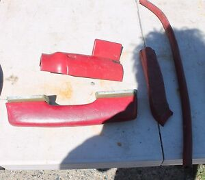 1967 Chevy Camaro Armrest Plus Other Interior Parts