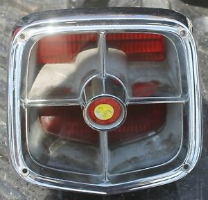 1963 Plymouth Belvedere Fury Tail Light Assembly