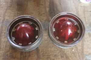 1961 Oldsmobile 88 Tail Light Tailight Assembly Pair S