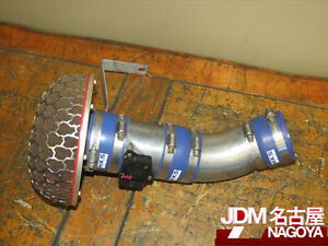 Jdm Hks Power Intake Air Filter Mega Flow Maf For 02 07 Subaru Wrx Sti Legacy
