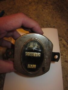 Antique Model A Speedometer Rat Rod Hot Rod