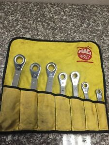 Mac Tools Kb211 Ratcheting Wrench 7pc Set