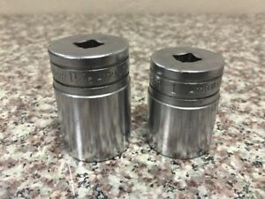 Snap On 1 1 16 A119 And 1 A118 Oil Pressure Switch Sockets
