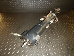 Jeep Cherokee Xj 84 95 Auto Grey Non Tilt Steering Column W Key Free Ship
