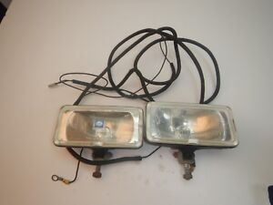 Aftermarket Jeep Hella Plow Light Lamp Pair Free Shipping