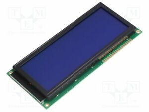 Display Lcd Alphanumeric Stn Positive 20x4 Blue Led Pin 18 Alphanumeric Screen