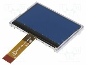 Display Lcd Graphical Stn Negative 256x128 Led 80x54x6 5mm Graphic Screen