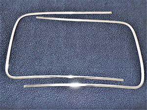 1949 1950 1951 Ford Convertible And 51 Victoria Used Windowshield Stainless