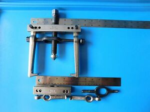 Used Snap On Gear Puller Set Two Sets Of Jaws