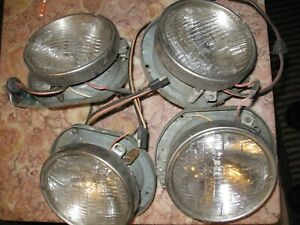 Dodge Truck Headlight Buckets 1958 60 Truck 1958 66 Town Wagon Panel Power Wagon