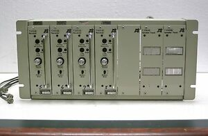 Tait Rack Module 4 Receivers T355 52 2 Speakers T358 02 Base Station