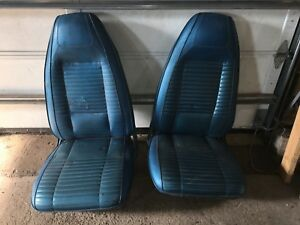 1970 Plymouth Barracuda Dodge Challenger Charger Bucket Seats E body Tracks