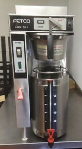 Fetco Commercial Coffee Brewer Machine Thermal Server Cbs 51h 10 Single