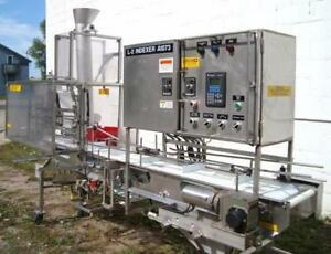 Food Process Systems Box Filler Model 6000 Stainless Steel Sanitary