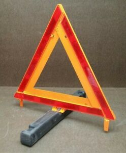 2 Sets James King Co Safety Warning Triangles W Cases Model 1005
