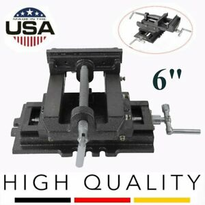 6 Cross Drill Press Vise Slide Milling 2 Way X y Clamp Machine Heavy Duty Bp