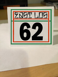 Carl S Jr Table Number Indian Motorcycle Dash Car Number Any Year 2 Colors