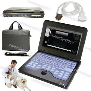 Cms600p2 Vet Veterinary Use Portable Laptop B ultra Sound Scanner Machine Convex