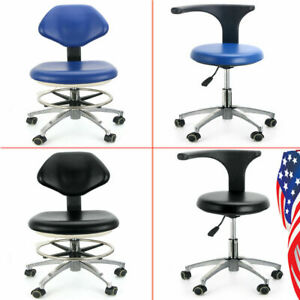 Adjustable Dental Pu Leather Medical Stool Doctor Assistant Stool Mobile Chair B