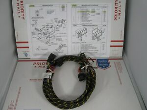 Western 60586 Fisher 6133 Plow Light Harness For Conventional 4 wire Hb 1 9004