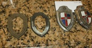 1946 1947 1948 1949 1950 1951 Lincoln Emblems 6 Total Pieces Br