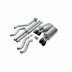1992 1995 Corvette C4 Corsa Sport Cat Back Exhaust W 3 5 Black Tips 602743