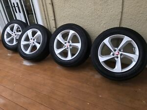 Jaguar Land Rover Ford Volvo Lincoln 19 Wheels Rims Tires Like New