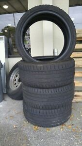4 Used Tires Continental 255 35 19 Zr Contisportcontact