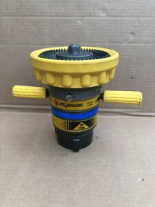 Elkhart Brass Sm 1250b Fire Hose Nozzle 2 1 2 In yellow b 22