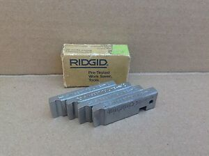 Ridgid One Set 500 b Bolt Dies 9 16 18 Unf Threader Threading Teeth 34