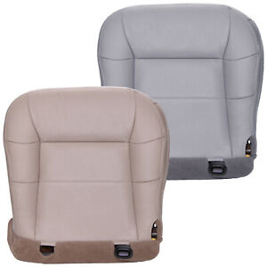 2000 2002 Lincoln Navigator Driver Bottom Perforated Leather Seat Cover