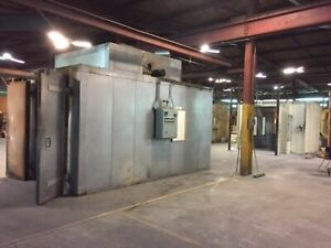 Advance Design Concepts 18 2 w X 7 8 l Dual Booth Complete Powder Coating Line