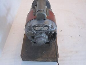 antique General Electric Ac Motor