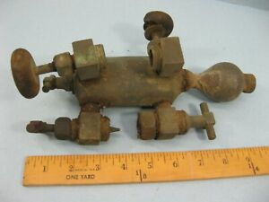 Steam Engine Lubricator Oiler Detroit