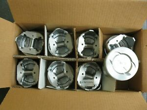 Silvolite Cast Pistons 1157 060 289 302 Ford 060 Over