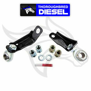 Kryptonite Pitman And Idler Arm Support Kit For 01 10 Gm Duramax Lb7 Lly Lbz Lmm