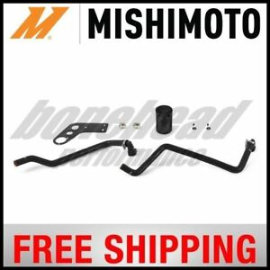 Engine Oil Separator Ford Mustang Gt Baffled Oil Catch Can Fits 15 16 Mustang V8