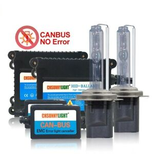 Super Slim Canbus 35w Hid Xenon Kit H1 11 9005 9006 880 Car Error Warning Free