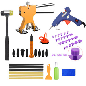 Auto Body Paintless Dent Removal Repair Tool Kits Puller Lifter Car Dent Repair