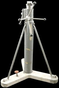 Brunson 45 70 Adjustable Heavy Duty Rolling Optical Tooling Instrument Stand